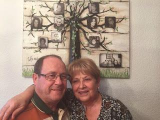 arbol familiar en cuadro, cuadro en madera