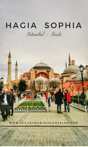 hagia sophia istanbul turki