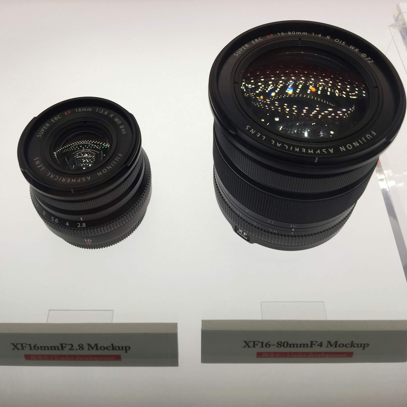 Объективы Fujinon XF 16mm f/2.8 R WR и XF 16-80mm f/4 R OIS WR