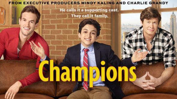 Champions NBC sitcom