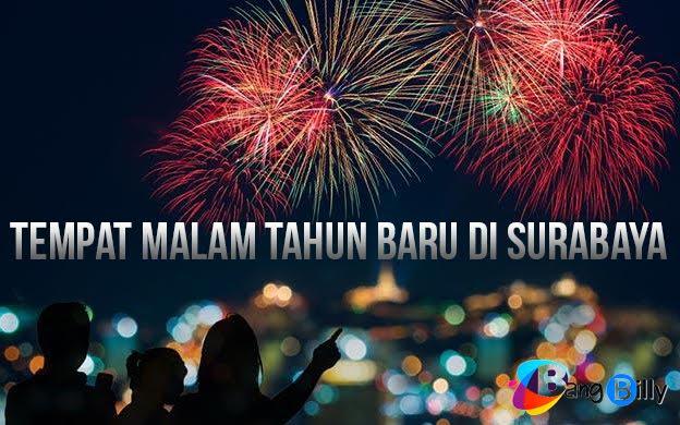 Tempat Malam Tahun Baru di Surabaya