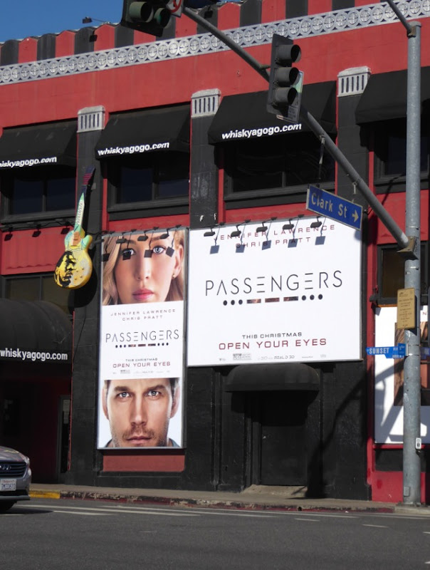 Passengers movie billboards Whisky A Go-Go