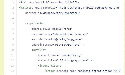 Tips Cara Membuat EasyViewPagerUI Custom View Pager Android Download Script Dan Source Codenya disini
