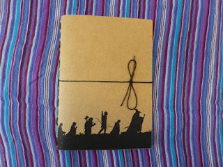 Caderno Senhor dos Anéis
