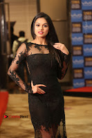 Actress Soniya Stills in Beautiful Black Long Dress at SIIMA Short Film Awards 2017 .COM 0082.JPG