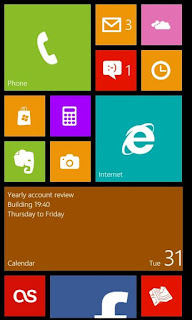 Tema Windows 8 untuk Android : Fake Windows Phone 8 Apk