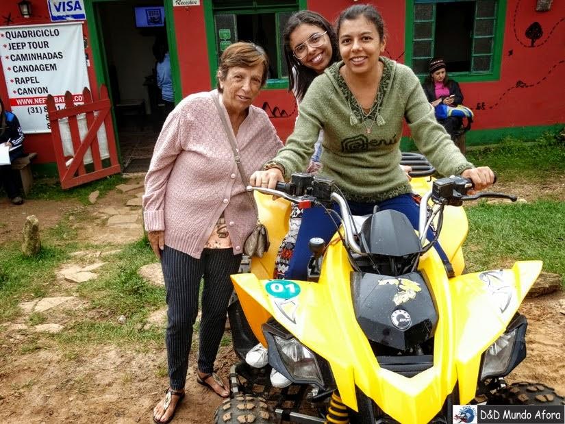 Passeio de quadriciclo em Lavras Novas (Minas Gerais) - sossego, natureza e aventura