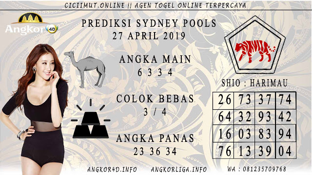 Prediksi Angka Jitu SYDNEY POOLS 27 APRIL 2019
