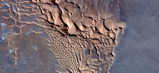 chocolate ice cream in the desert,abstract landscapes of deserts,Abstract Naturalism,abstract photography deserts of Africa from the air,abstract surrealism,mirage in desert,fantasy forms of sand