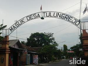 Photo Gapura Lama Desa Tulungrejo - Pare