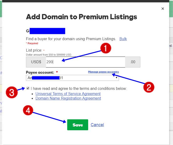 Premium Listing Domain