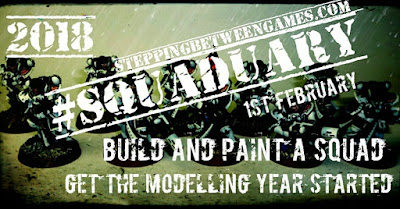Squaduary 2018 by steppingbetweengames.com
