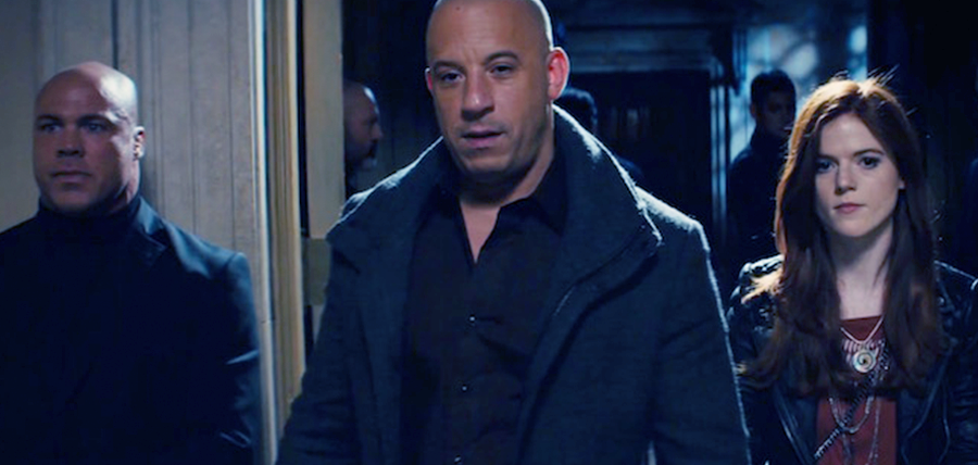 Diesel Kaulder (Vin Diesel) şi Chloe (Rose Leslie) în The Last Witch Hunter