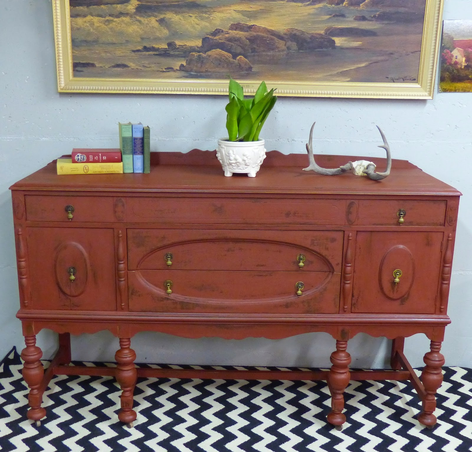 Old Fashioned Furniture For Sale: Simple Redesign: OLD FASHIONED MILK PAINT