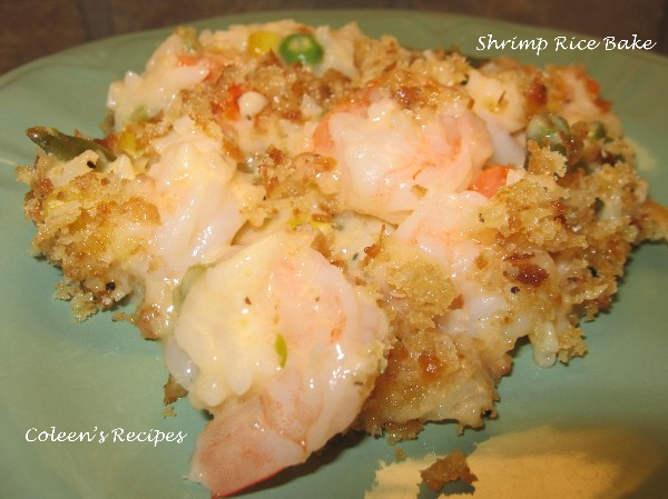 Creamy Shrimp Rice Bake Recipe Recipes
