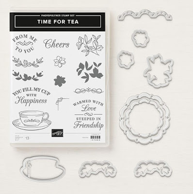 Time For Tea Photopolymer Bundle - 148410