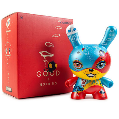 "Good 4 Nothing Dunny 8"" Vinyl Figure by 64Colors x Kidrobot"