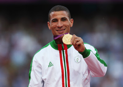 Taoufik Makhloufi pelari asal aljazair