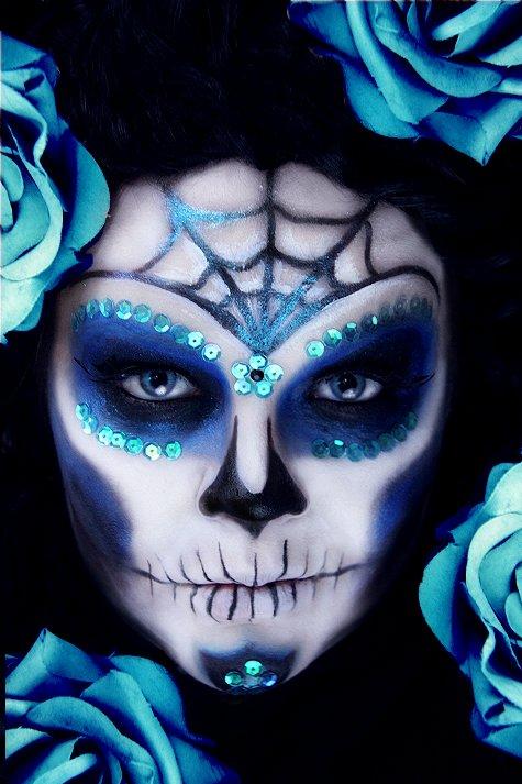 Makeup your Jangsara: Tutorial: Royal Sugar Skull
