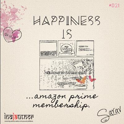 Happiness is amazon prime membership!