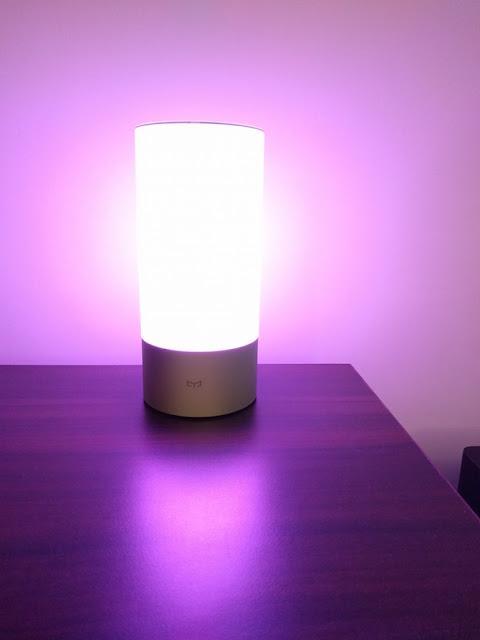 """The """"Smart & Stylish"""" Xiaomi Yeelight Bedside Lamp"""