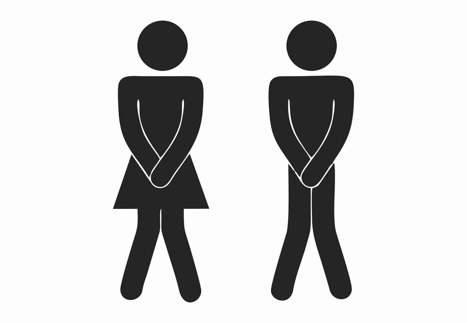 Cocorel Bonecos de porta de banheiro vetorizados em Corel Draw [CDR], Adobe -> Boneco Banheiro Feminino