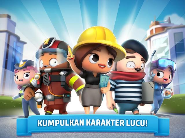 City Mania: Town Building Game Terbaru