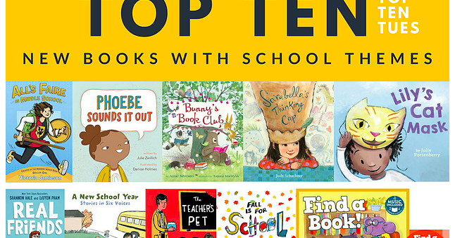 The Library Voice: Find A Book Is Part Of The Top Ten New