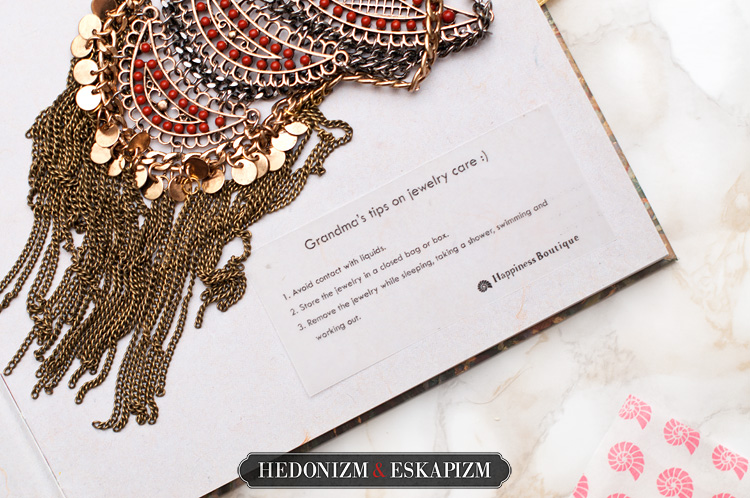 boho necklace Happiness Boutique
