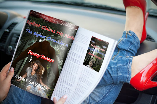 #WickedWednesday: @Tawny_Savage and her #Bigfoot Chronicles Continue to Move Up the #Rubenesque #Erotica Charts on All Romance