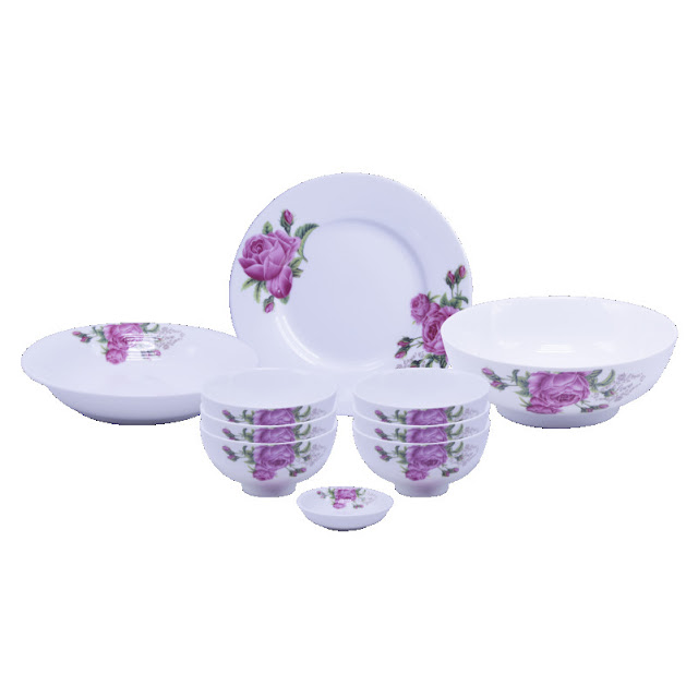 bát đĩa sứ cao cấp Minh Châu