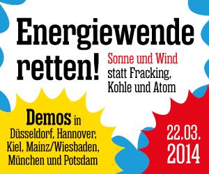 """Sonne und Wind statt Fracking, Kohle und Atom!"""" title=""""Sonne und Wind statt Fracking, Kohle und Atom!"""