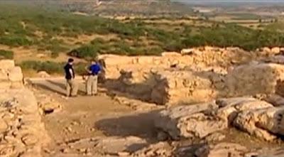 Restos arqueológicos de la ciudad de David