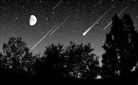 Resultado de imagem para Fique atento: noite desta terça-feira terá superlua e chuva de meteoros