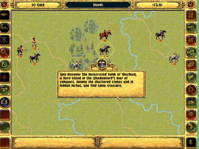 The Stuff of Healing  | Fantasy General Screenshot