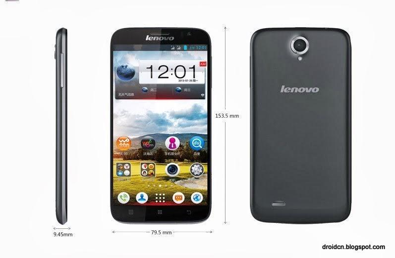 Lenovo A850 Specification - DroidCN
