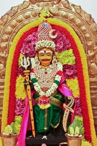Hindu God munisawaran pic