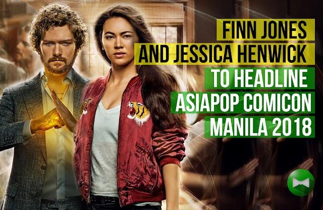Marvel's Defenders stars Finn Jones and Jessica Henwick to headline AsiaPOP Comicon Manila 2018