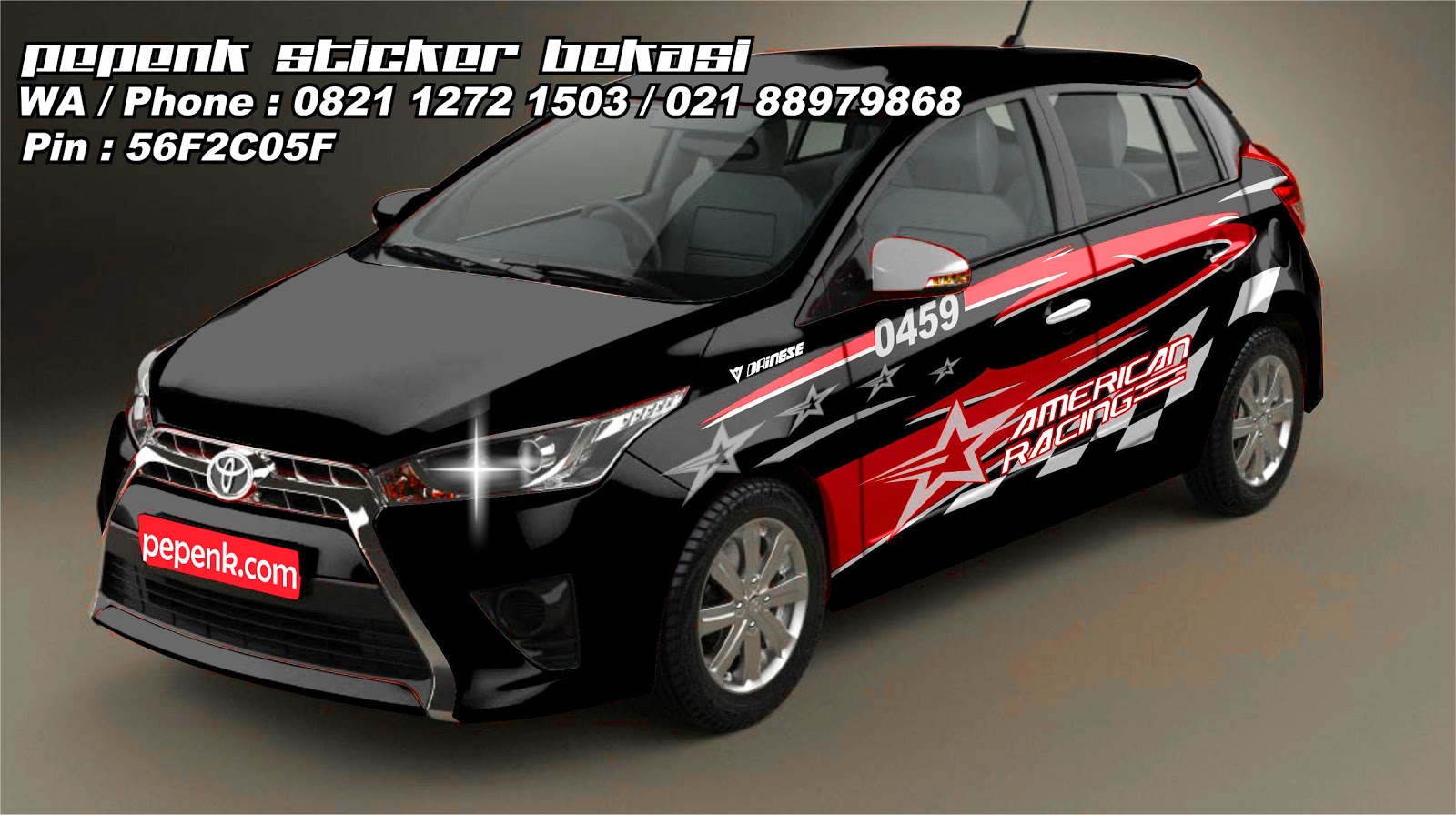CUTTING STICKER HONDA MOBILIO | King Sticker bali