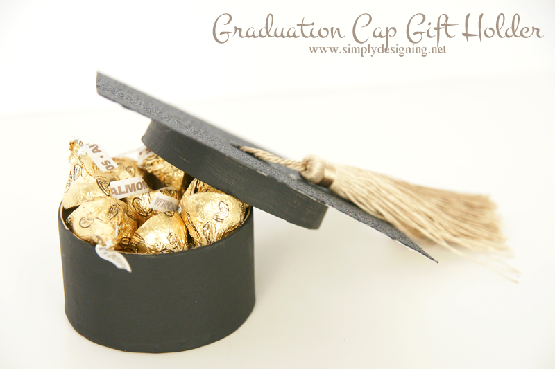 Graduation Cap Gift Box Holder