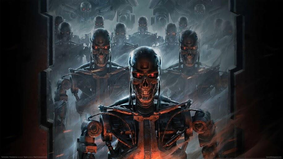 Terminator, Sci-Fi, Game, 4K, #4.3069