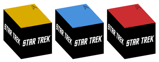 Trek Collective Lists: Icon Heroes Star Trek stationary and