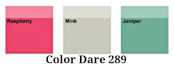 Color Dare #289 Closes Thur May 3rd