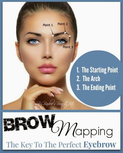 Brow Mapping: The Key To The Perfect Eyebrow, Beauty Round Up, By Barbies Beauty Bits