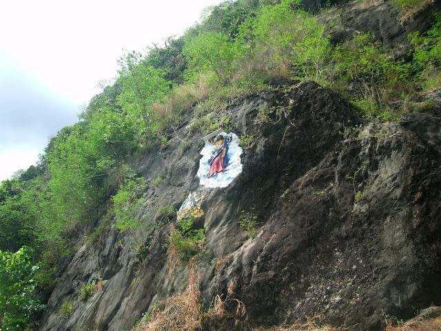 Mount Pulong Bato in Zamboanga City