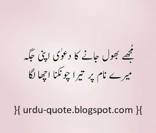 Urdu Lovely Quotes 2