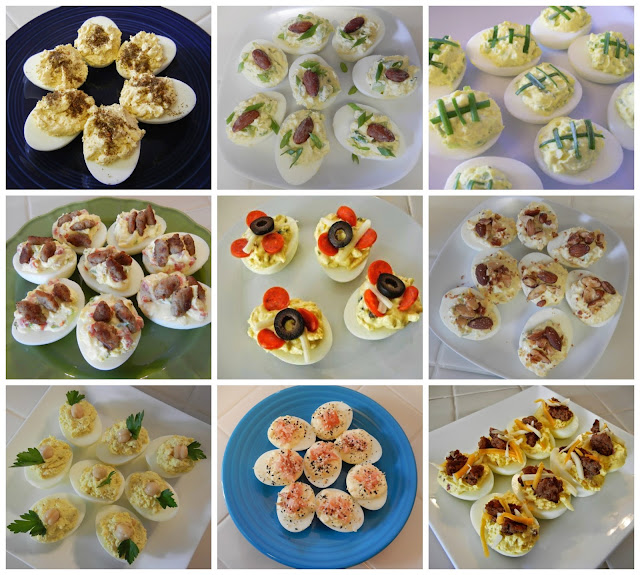 Eggface%2BDeviled%2BEgg%2BCollage Weight Loss Recipes Protein Packed Snack: Deviled Eggs