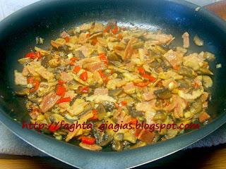 Τα φαγητά της γιαγιάς - Γέμιση για κοτόπουλα, κότες και κοκόρια