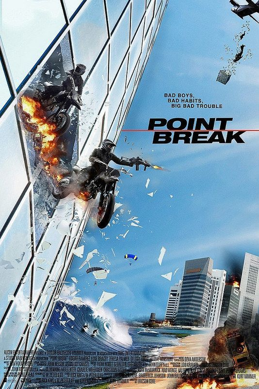 Point Break (2015) Dual Audio 720p BluRay x264 [Hindi + English] 900MB