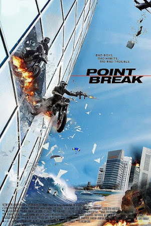 Poster Of Point Break In Dual Audio Hindi English 300MB Compressed Small Size Pc Movie Free Download Only At worldfree4u.com